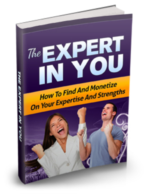 Product picture The Expert In You - MRR