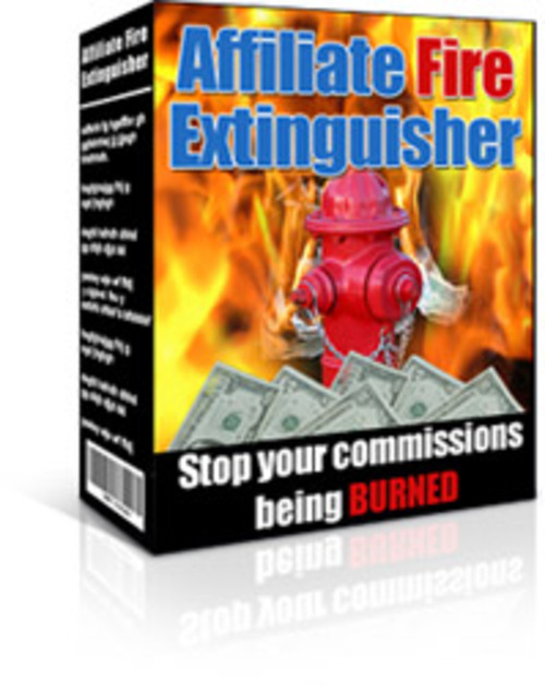 Product picture Affiliate Fire Extinguisher  - Master Resell Rights
