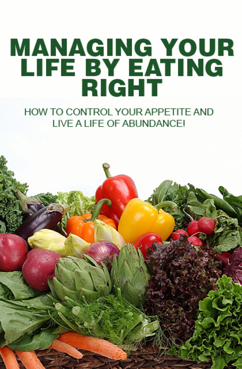 Product picture Managing Your Life By Eating Right - MRR