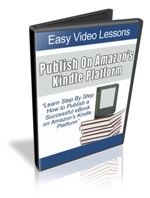 Product picture Publish Your Ebook On Kindle Video Tutorial