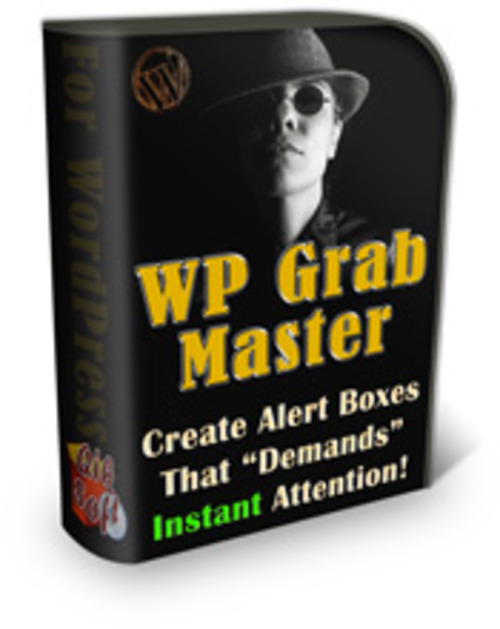 Product picture WP Grab Master - Wordpress Plugin with Master Resale Rights